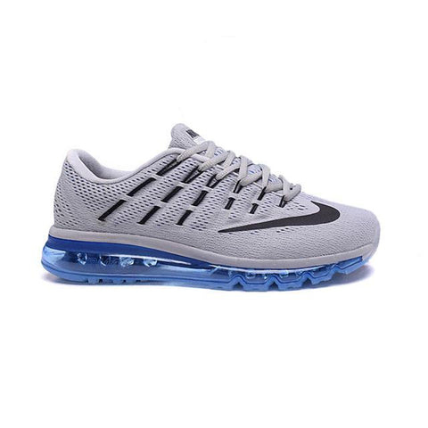 Nike Air Max 2016 Wolf Grey Racer Blue Sail Black Men
