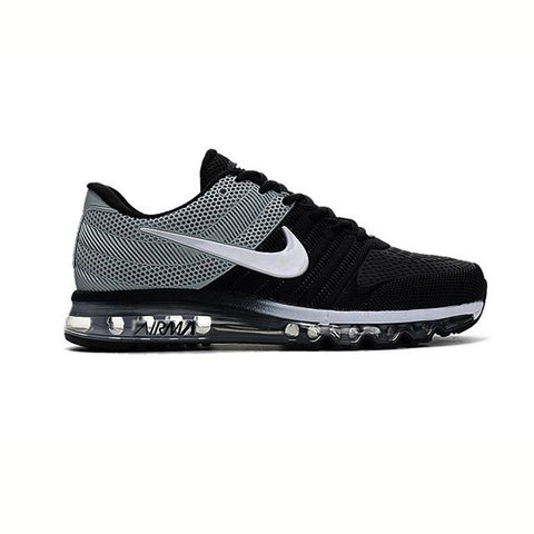 Nike Air Max 2017 Black Silver White Men