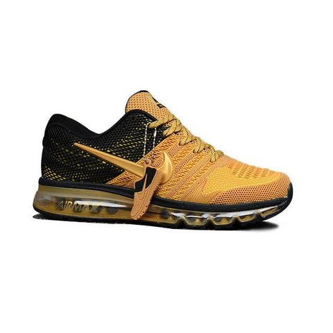 Nike Air Max 2017 Gold Black Gold Logo Men