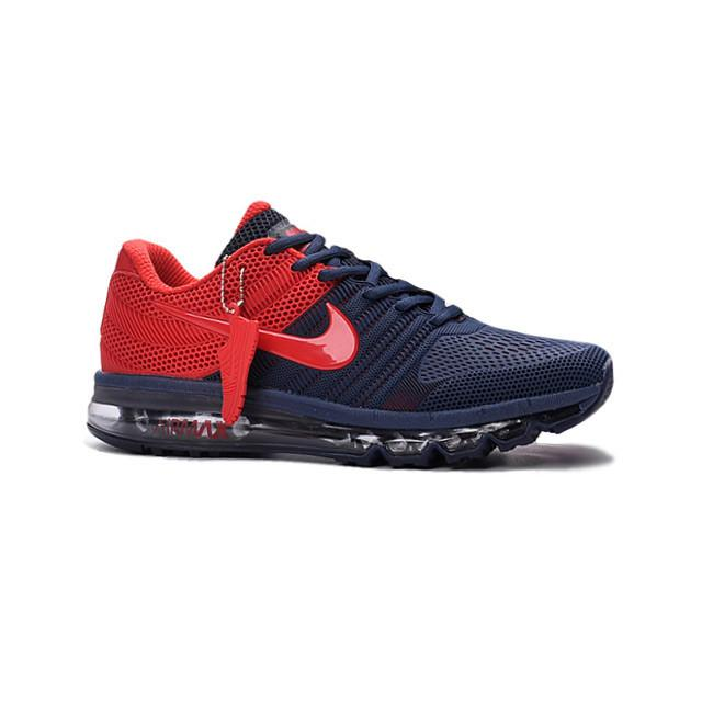 new concept 6c6ff 02133 ... norway nike air max 2017 navy blue red men 81a1a 08db1 ...