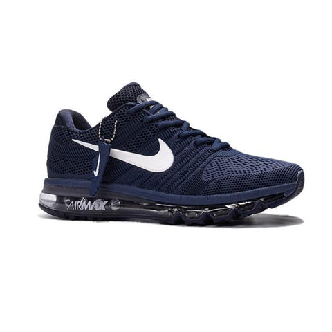 Nike Air Max 2017 Navy Blue White Logo Men