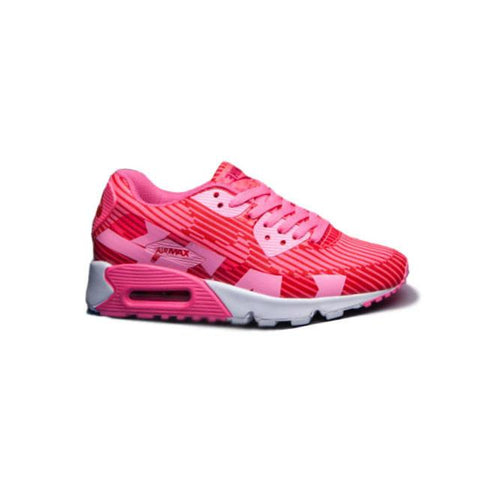 timeless design 607cf a224f Nike Air Max 90 Red Pink White Women