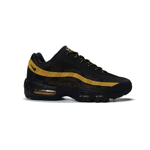 buy popular 41c43 0b26f coupon for nike air max 95 black and gold yellow 77d28 213f3