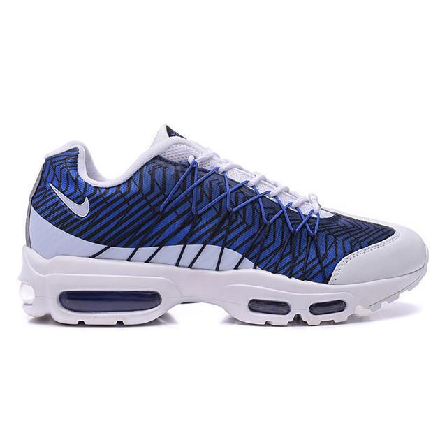 new product f846e 281ff ... coupon code nike air max 95 ultra jacquard black white blue fdc5c 83810