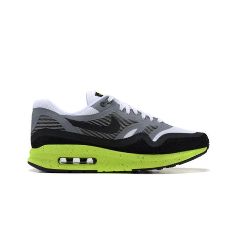 Authentic Nike Air Max Lunar 87 Running Shoes Gray White Green