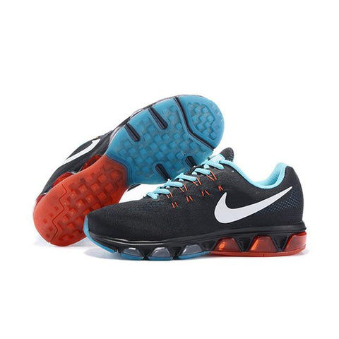 nike air max tailwind 8 weave black red blue