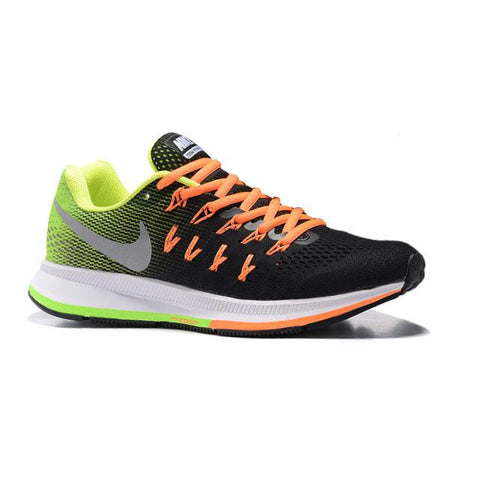 Nike Air Pegasus 33 Black Green Orange Men