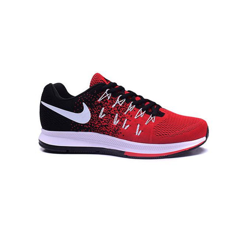 Nike Air Pegasus 33 Black White Charcoal Red Men