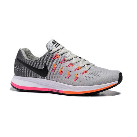 Nike Air Pegasus 33 Light Grey Black Red Men