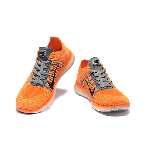 1d9cfb8528ca ... new style nike free flyknit 5 women orange white fccc8 57afd