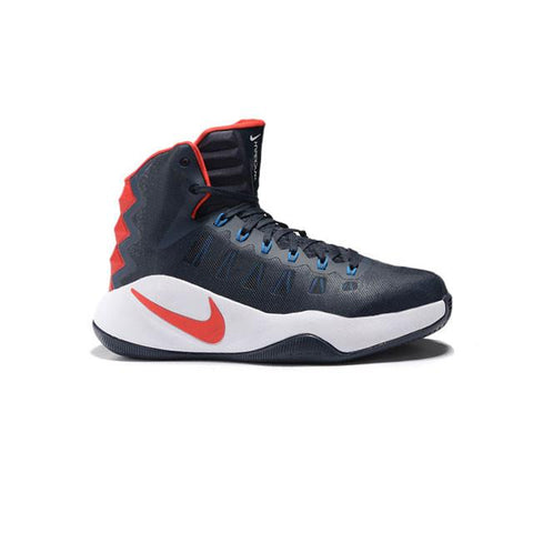 Nike Hyperdunk 2016 Dark Blue Red White Men