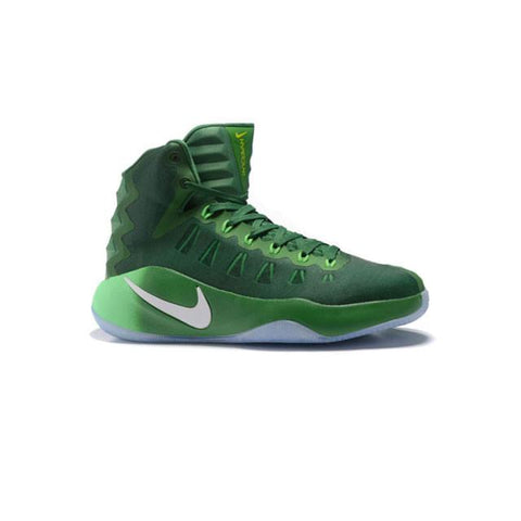 Nike Hyperdunk 2016 Dark Green White Men
