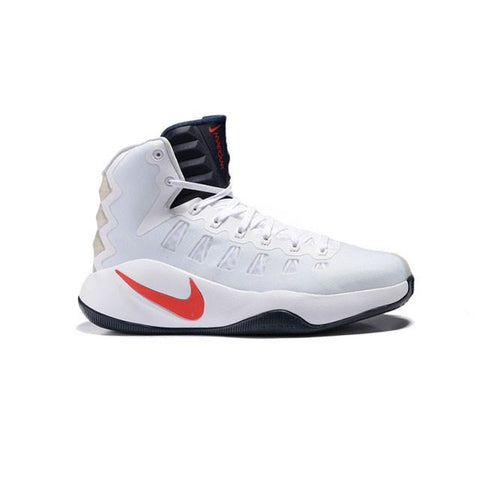 Nike Hyperdunk 2016 White Navy Red Men