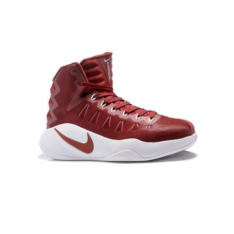 Nike Hyperdunk 2016 Wine Red White Men