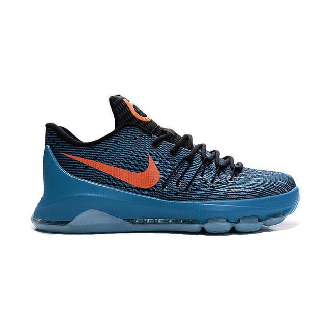 6de8bd62a458 ... new zealand nike kevin durant 8 road game blue lagoon black tide 650a1  1beb2 cheap kd ...