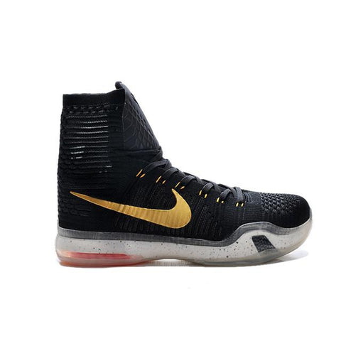 Nike Kobe 10 High Black Golden White