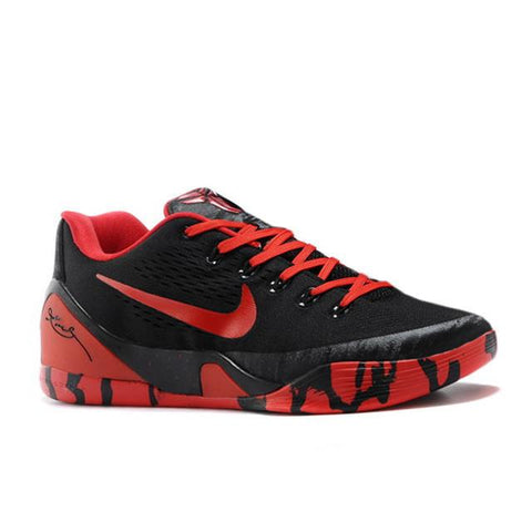 Nike Kobe 9 Low Black Red