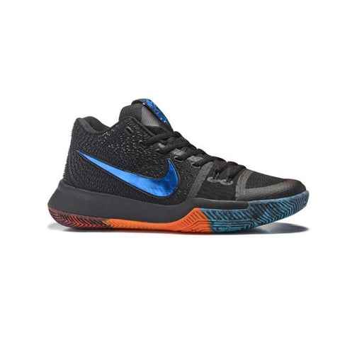 Nike Kyrie 3 Black Blue Orange Men