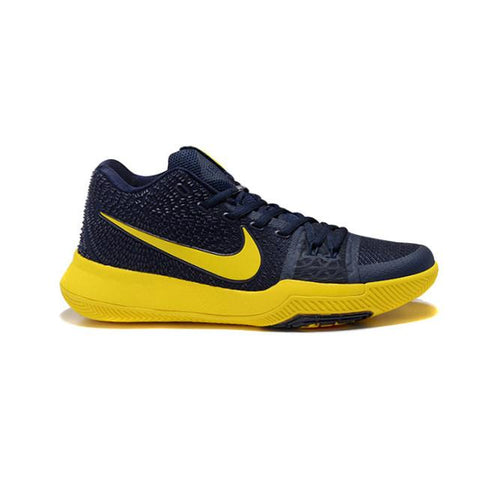 Nike Kyrie 3 Dark Blue Yellow Men