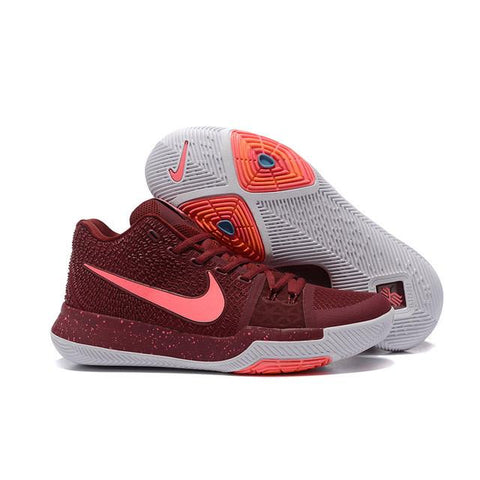 6ec2834babfc Nike Kyrie 3 Team Red White Pink Blast Total Crimson Men – Sneaker-CEO