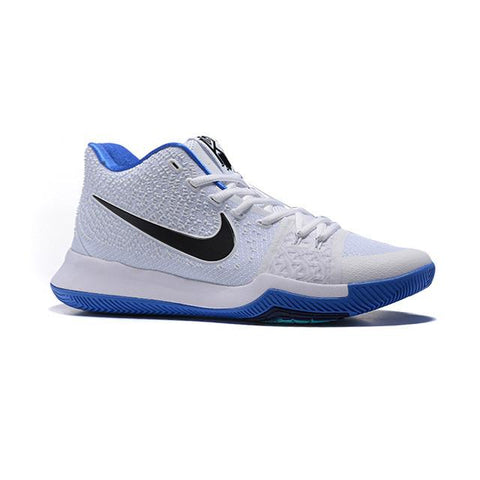 Nike Kyrie 3 White Hyper Cobalt Black Men