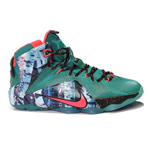 80508456c36 switzerland nike lebron 12 christmas green red men shoes c5d2f 489ff