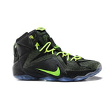 Nike Lebron 12 Elite Black Green
