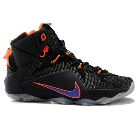 Nike Lebron 12 Elite Black Purple Orange Men Shoes