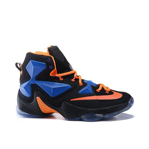 Nike Lebron James 13 Custom Black Blue Orange