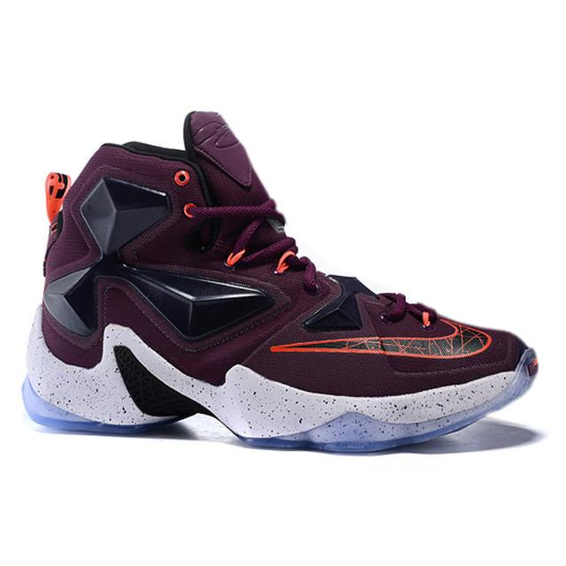 1ba9a1335af Nike Lebron James 13 Purple Blue White .