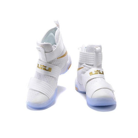 lebron james shoes soldier 10 white shoe high school nike lebron james soldier 10 white gold men and