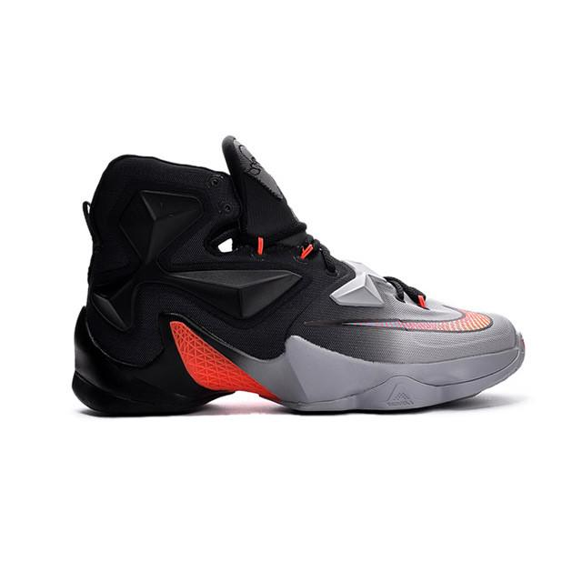 adcb17f98ed4 ... nike lebron xiii elite black red grey men