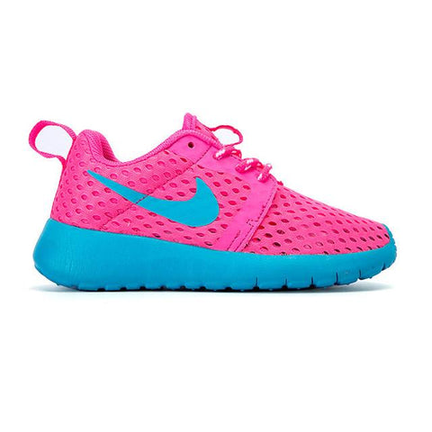 Nike Roshe Run Pink Blue Kids