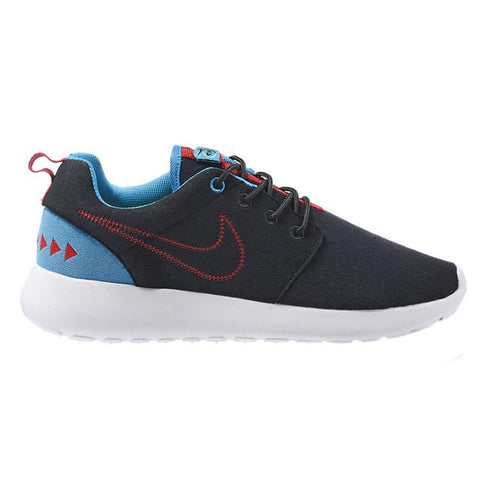 Nike Roshe Run Print Black White Blue