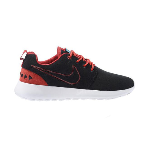 Nike Roshe Run Print Black White Red