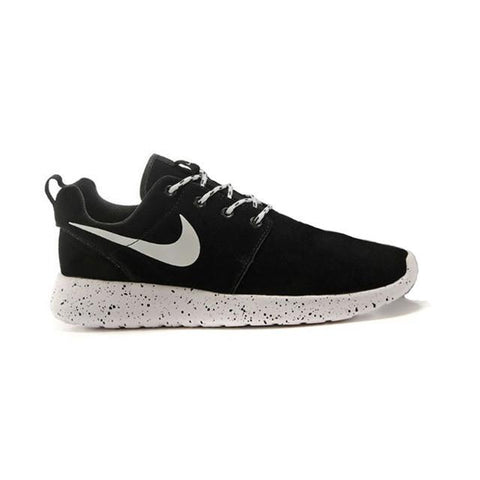 Nike Roshe Run Suede WhiteSmoke Black