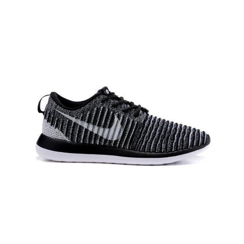 Nike Roshe Two Flyknit Grey Black Men