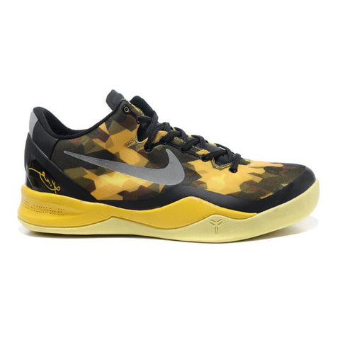 Nike Zoom Kobe VIII Yellow Black Women Shoes