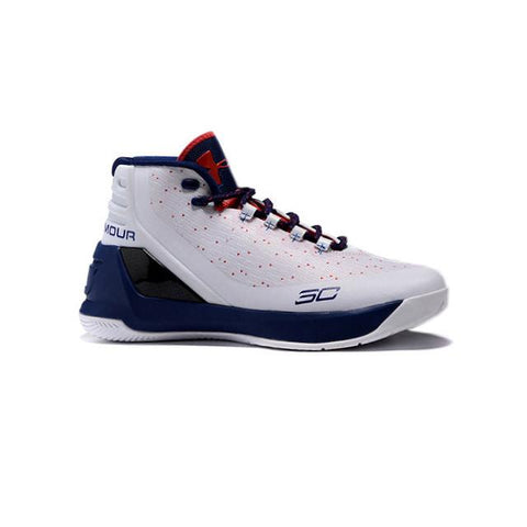 UA Curry 2 Under Armour Stephen Curry 3 White Blue Black Red Men