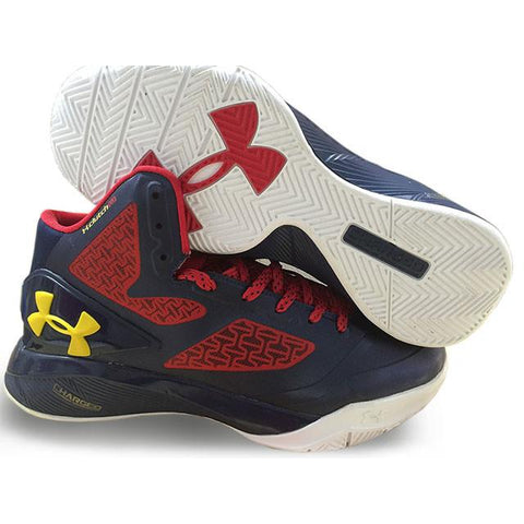 0e746b41e182 Under Armour ClutchFit Drive II Red Navy Blue White – Sneaker-CEO