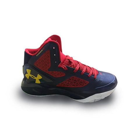 Under Armour ClutchFit Drive II Red Navy Blue White