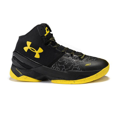 Under Armour Curry 2 Black Yellow Men