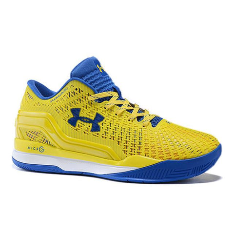 Under Armour Curry Low Yellow Blue