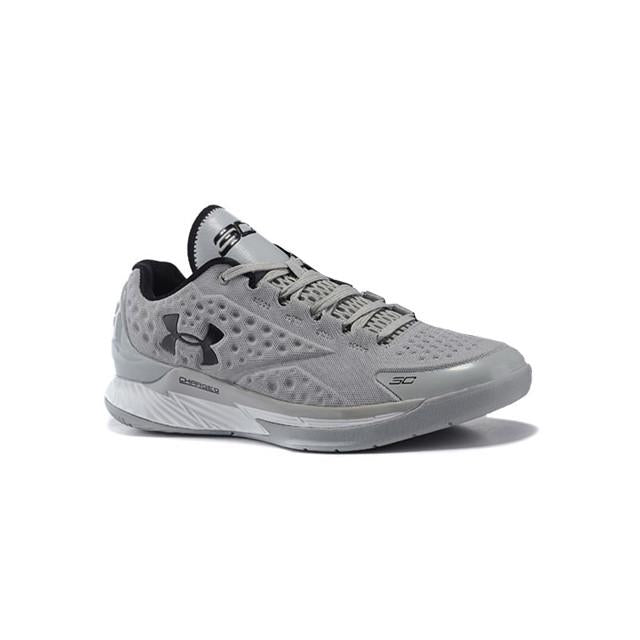 Under Armour Curry One Low Silver Grey Black White – Sneaker-CEO 03ddb0abe