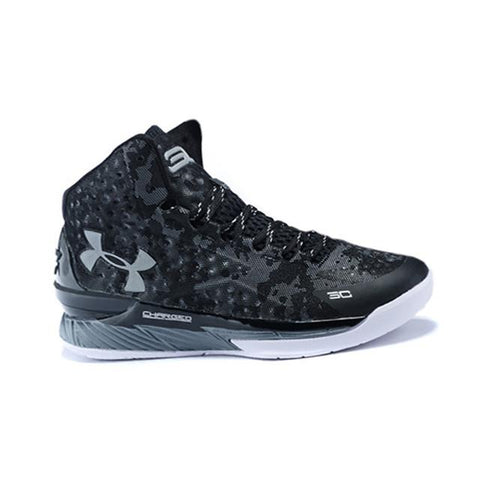 1bce88018a5 Under Armour Curry One Shoes Black Camo Grey White