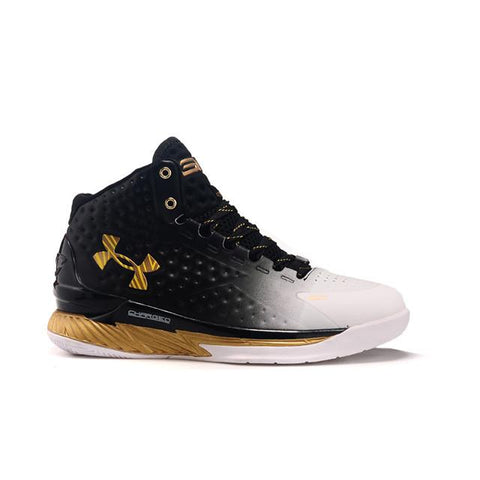 Under Armour Curry One White Black Gold