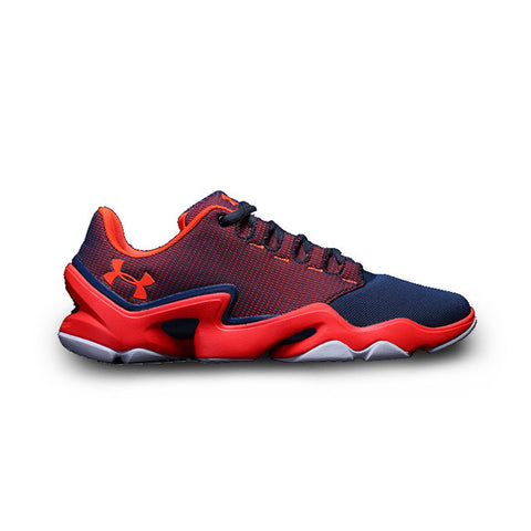 Under Armour Phenom Proto Training Shoes Red Navy Blue