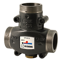 ESBE Range Load Protection Valves VTC512 25-9 G1 1/4 65°C - ESBE