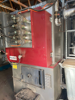 [Used] Boiler with RHI - Gilles 240kW chip biomass boiler