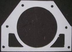 Gasket for stoker tube to stoker auger bearing plate - Herz